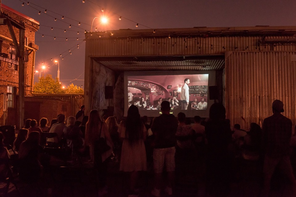 Short Movie Club open-air