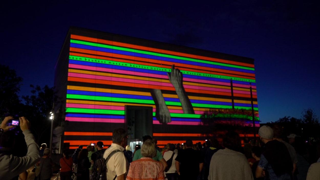 Videomapping festival